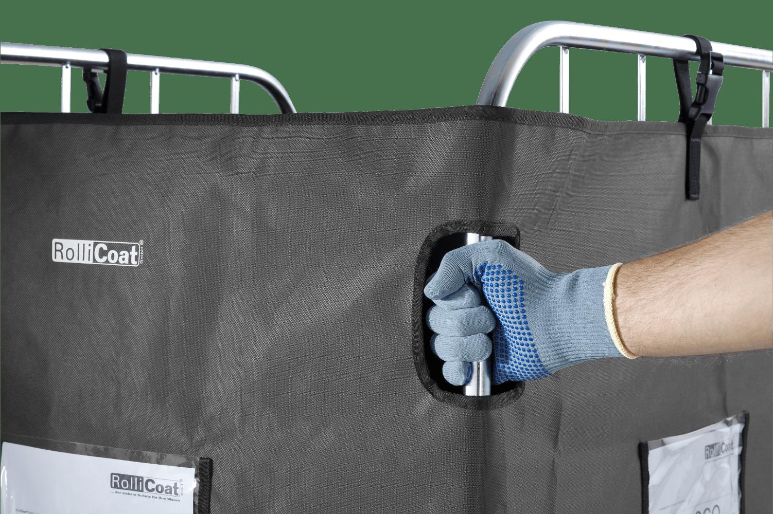 Rollicoat | Schiebeeingriff