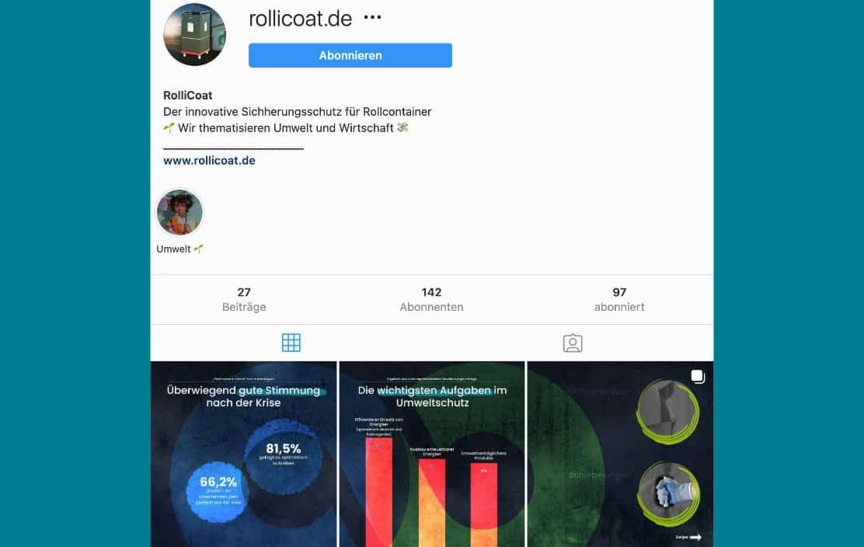 Rollicoat Instagram